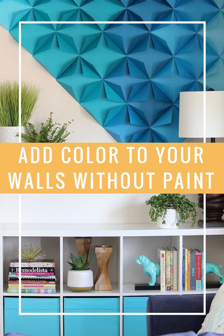 16 Ways To Add Color To Your Walls Without Painting