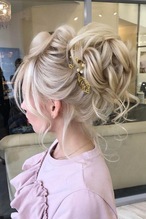50 Updo Hairstyles For Special Occasion From Instagram Hair Gurus Brautfrisur Hochzeitsfrisuren Frisuren