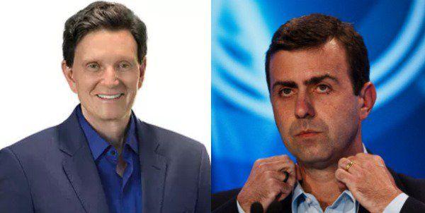 Crivella está com 58% contra 42% de Freixo na véspera da eleição