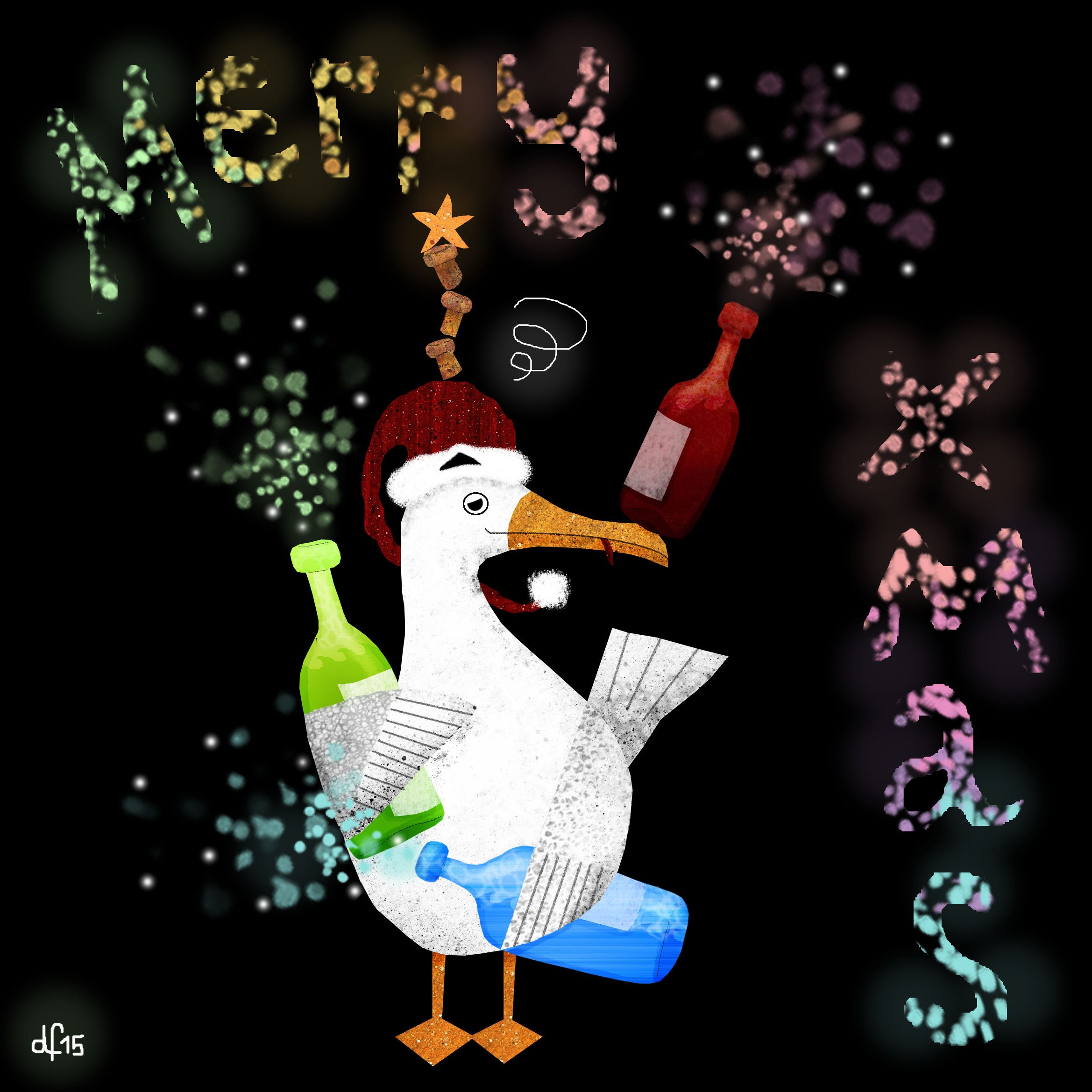 Merry Christmas Wishes The Slightly Tipsy Seagull Hic
