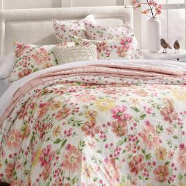 Watercolor Floral Duvet Cover And Shams Duvet Covers Duvet