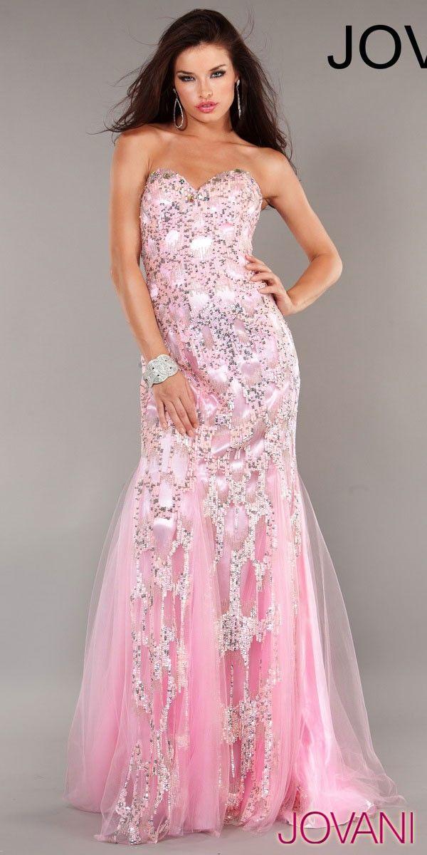 JOVANI | Vestidos | Pinterest | Telas, Rosa y Vestidos de noche