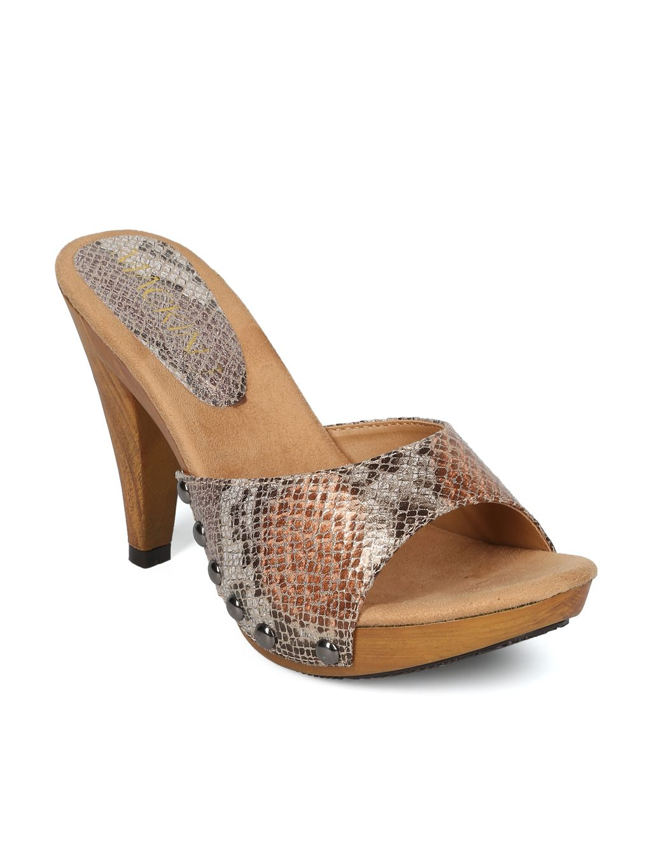 390abed79e15 Shoes MACKINJ HH05 Iridescent Reptile Leatherette Open Toe Studded Heel  Sandal