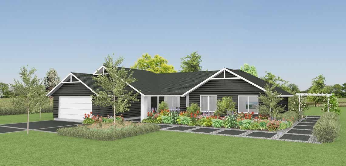 house ovation 4 bedroom house design landmark homes builders nz - House Plans Landmark Homes New Zealand