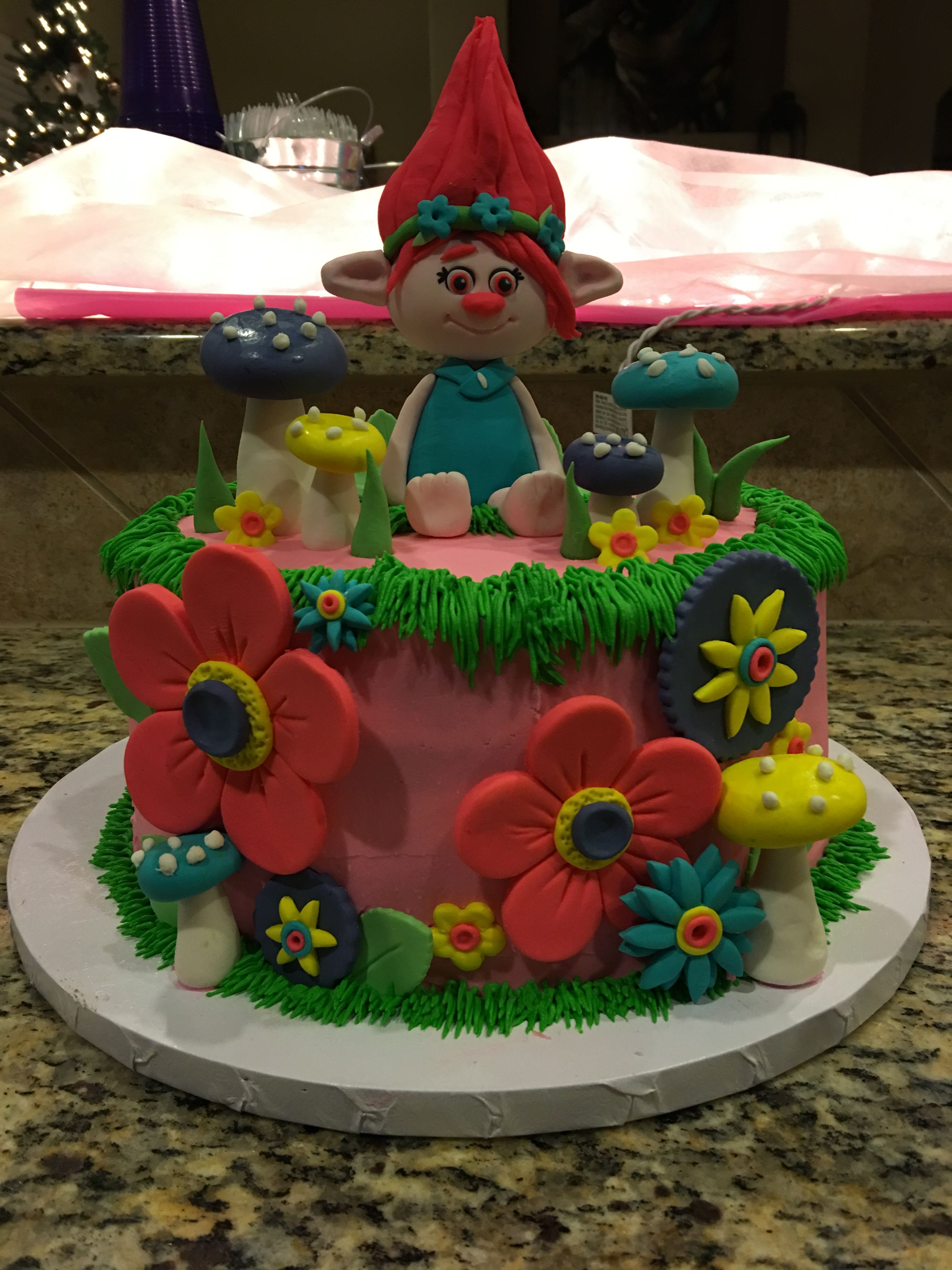 poppy troll cake by hive bakery troll birthday ideas pinterest geburtstag torte m dchen. Black Bedroom Furniture Sets. Home Design Ideas