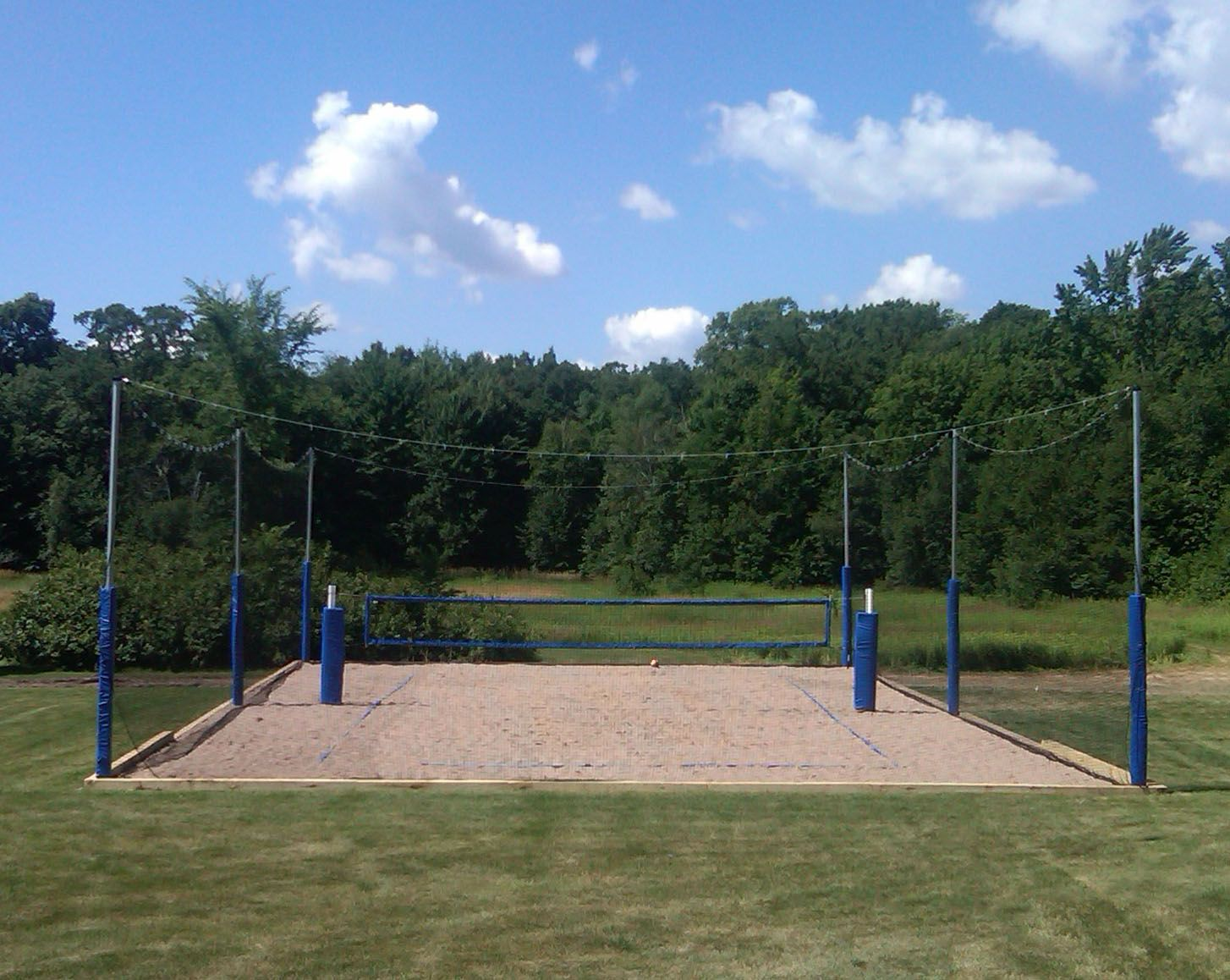 How To Construct A Volleyball Court Volleyball Court Backyard Beach Volleyball Court Sand Volleyball Court