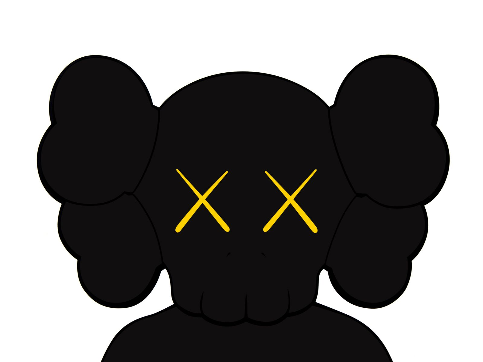 Kaws Companion Black Wallpaper Black Art Companion Kaws Wallpaper Kaws Wallpaper Kaws Painting Hypebeast Wallpaper