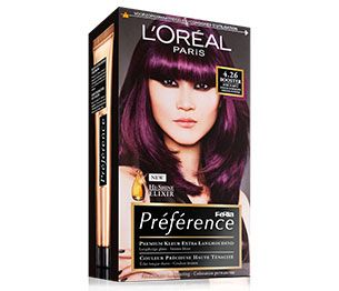 Feria Preference 4 26 Booster Pure Purple In Hair Color Plum