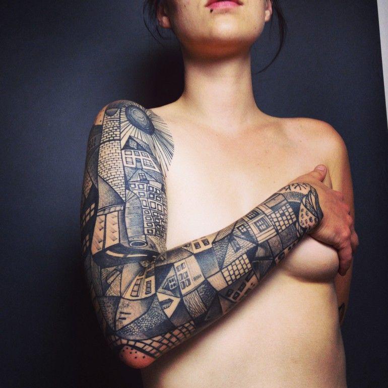 #sleeve #tattoo by Peter Aurisch