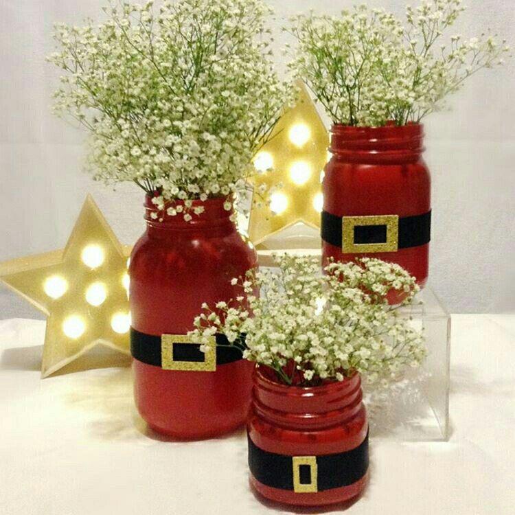 Artesanato de natal christmas interior manualidades for Manualidades de jardineria