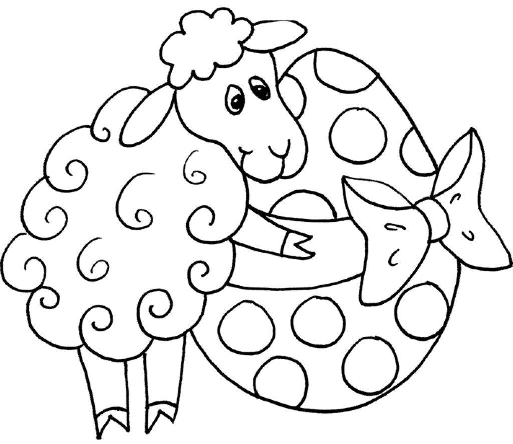 malvorlagen frühling ostern  desenhos