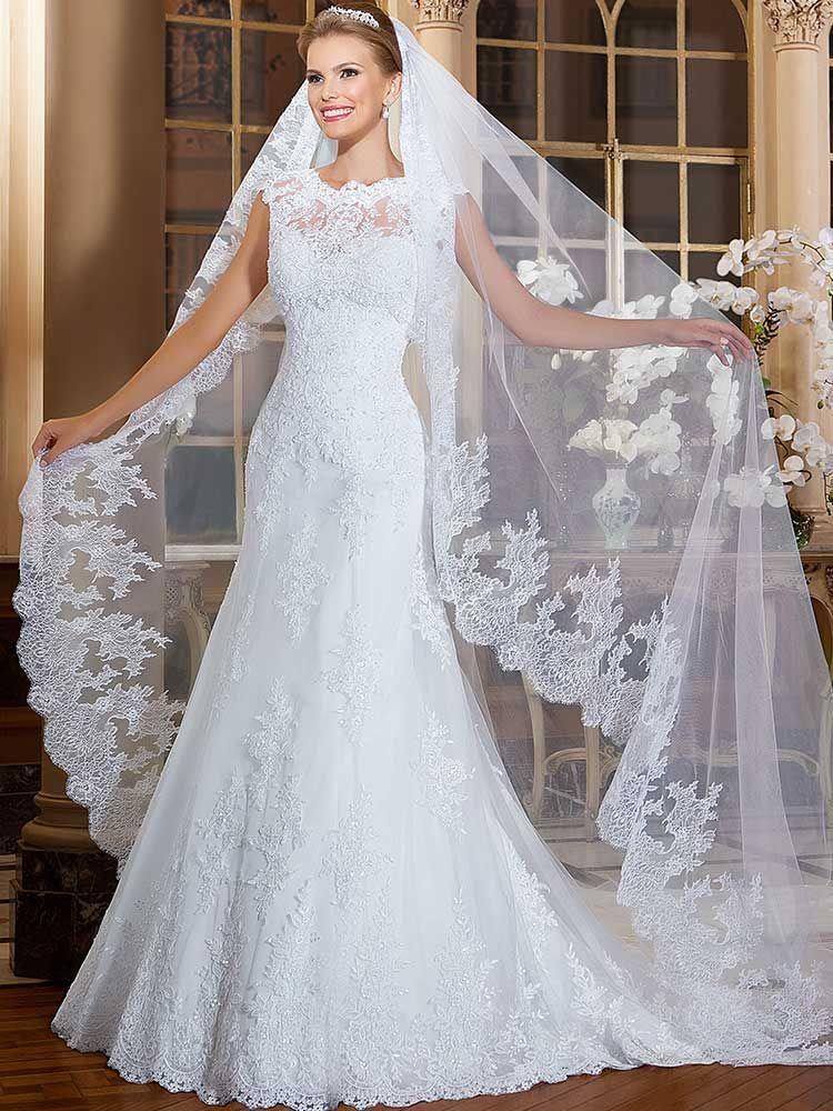 Gardênia 27 - frente #coleçãogardenia #vestidosdenoiva #noiva #weddingdress #bride #bridal #casamento #modanoiva