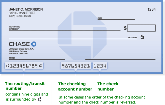 Chase Routing Number Get Chase Bank Routing Numbers Here Chase Bank Great Lakes Student Loans Accounting