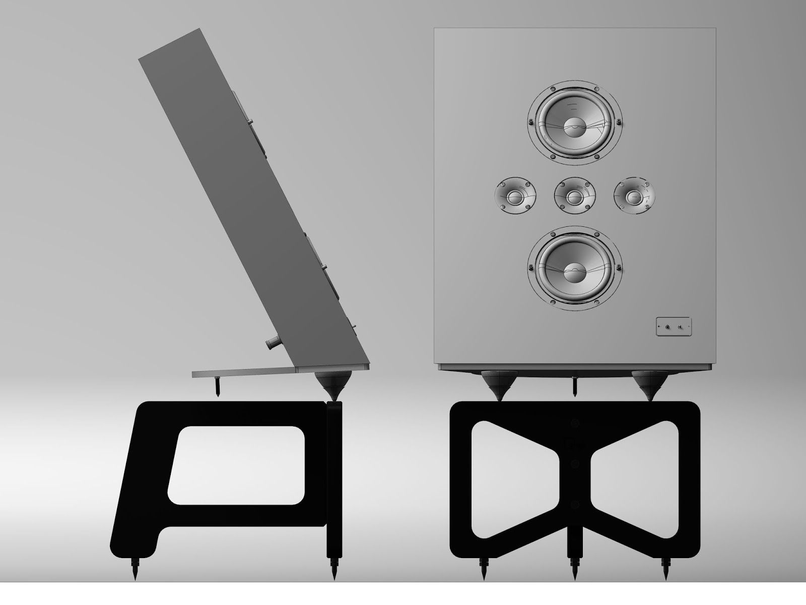 mono and stereo high-end audio magazine: ologe acoustic five