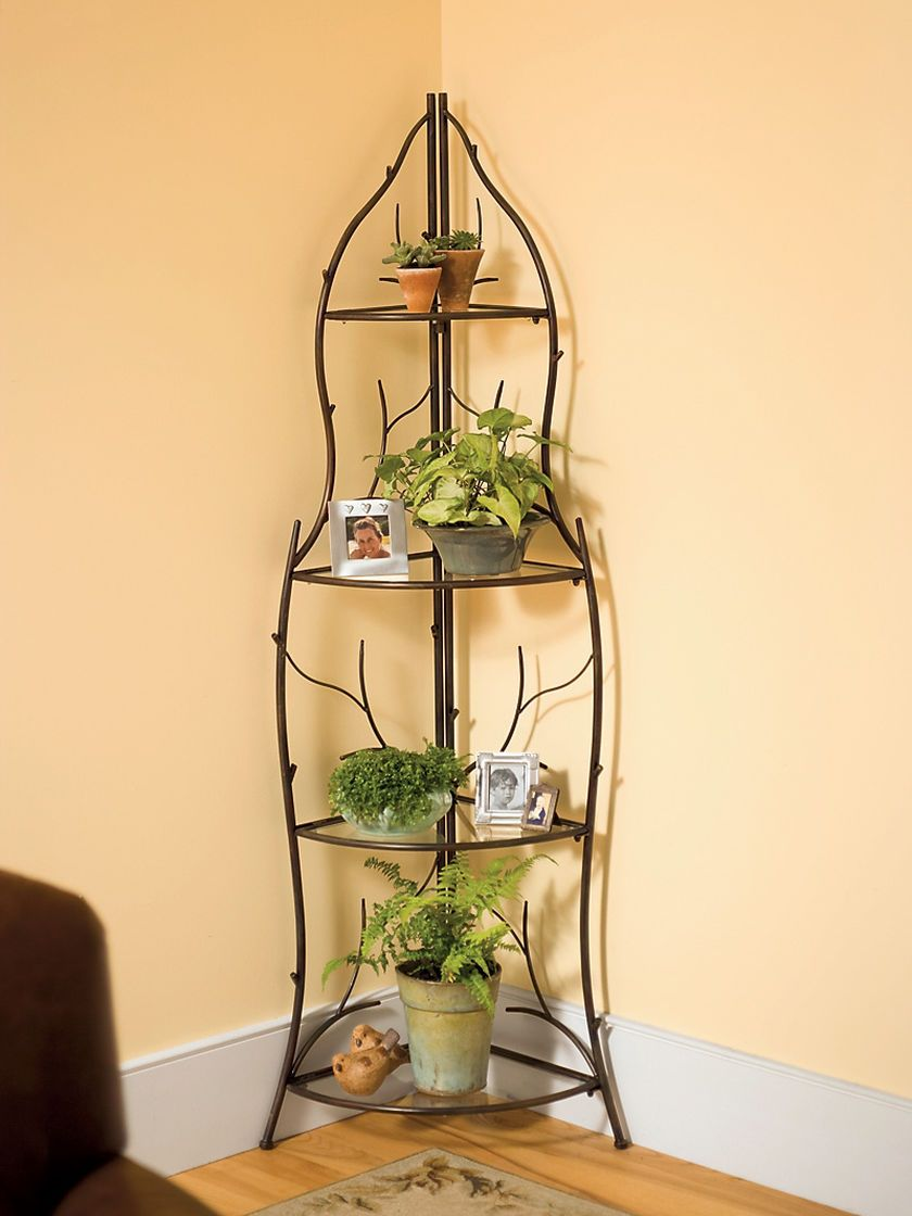 Branch Corner Plant Stand Buy From Gardener S Supply Corner