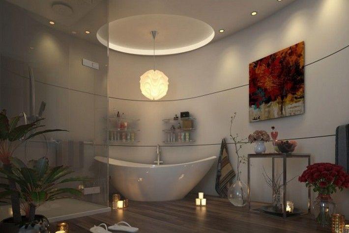 SUNLIGHT GORGEOUS BATHROOMS http://maisonvalentina.net/blog/sunlight-gorgeous-bathrooms/ #modernbathroom #gorgeousbathroom #luxurious