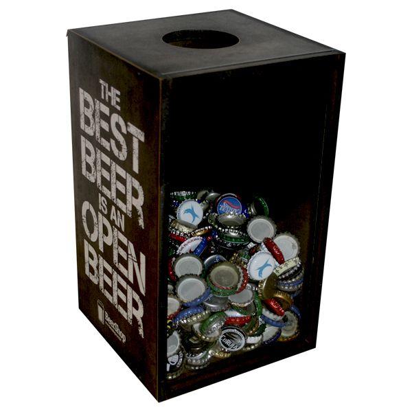 Caixa Colecionador de Tampinhas - Beershop - Cervejas Especiais