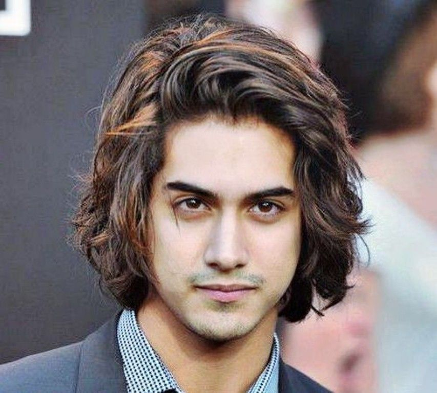 Best Long Curly Hairstyles For Men Tumblr | Short thick wavy ...