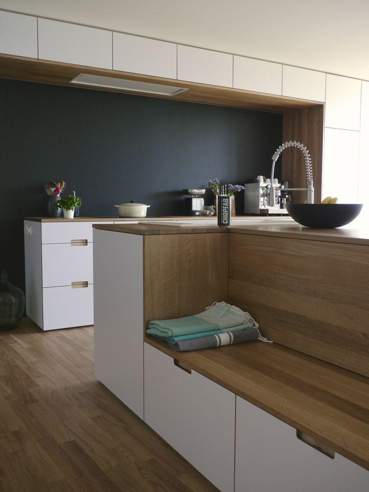 Küche nach Umbau II - #bank #II #Küche #nach #Umbau #schwarzewände