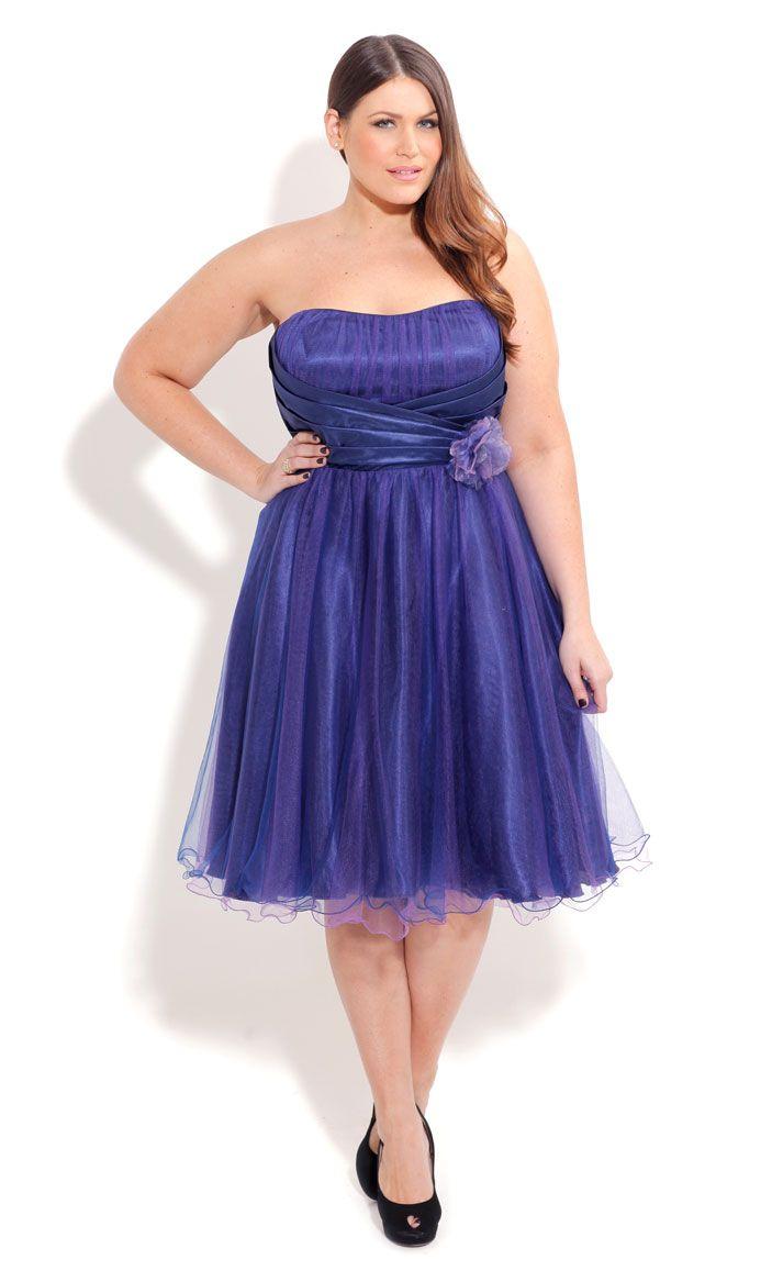 City chic pretty mermaid dress plus sized fashion dress