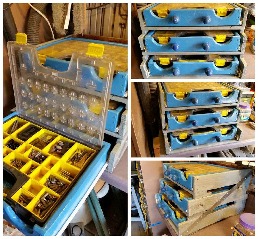 #DIY, #Drawer, #RecycledPallet, #Storage, #Upcycled