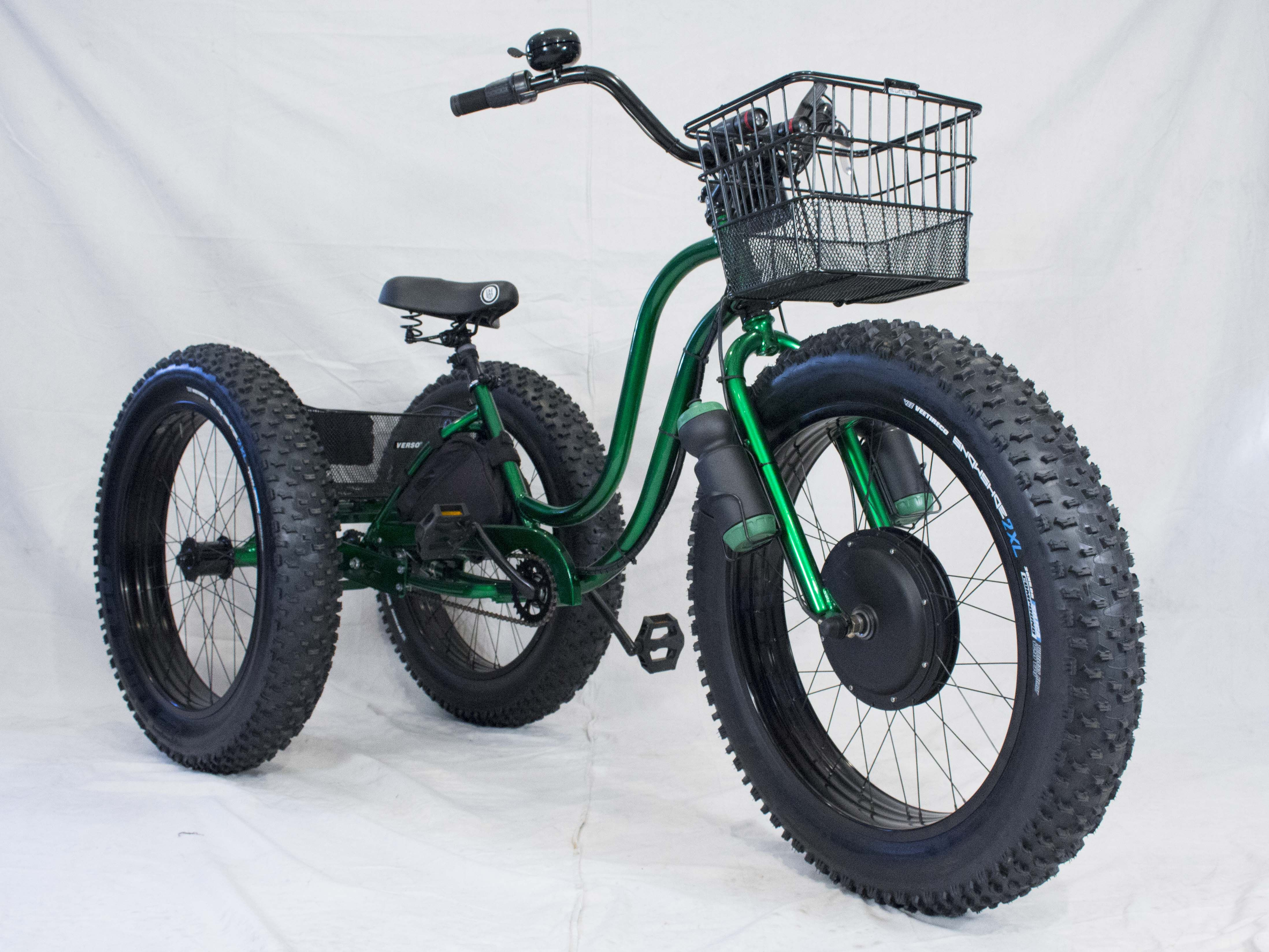 Electric Fat Tire Trike Adult Tricycle Bicycling