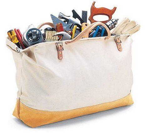Custom Leathercraft 304x Reinforced Masons Tool Bag Tool Bag Canvas Tool Bag Bags