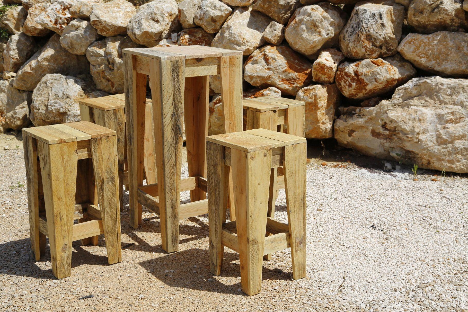 Société de vente de meuble design en bois de palette recyclé ...
