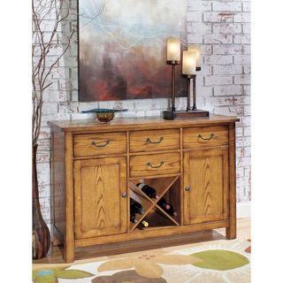 Shop For Summerhouse Golden Oak Server. Get Free Delivery At Overstock.com    Your