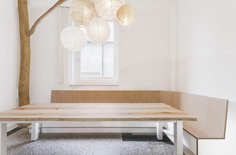 An Der Gemütlichen Tafel Mit Eckbank Finden Alle Ihren Platz / Interior /  Kita / Kindergarten