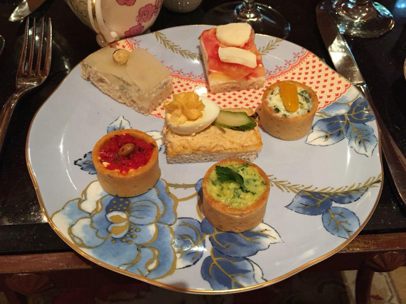 Hotel Granduca Tea Time Afternoon Tea Best Tea Park Restaurant