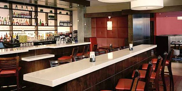 Modern bar with durable countertops | Bars | Pinterest | Countertops ...