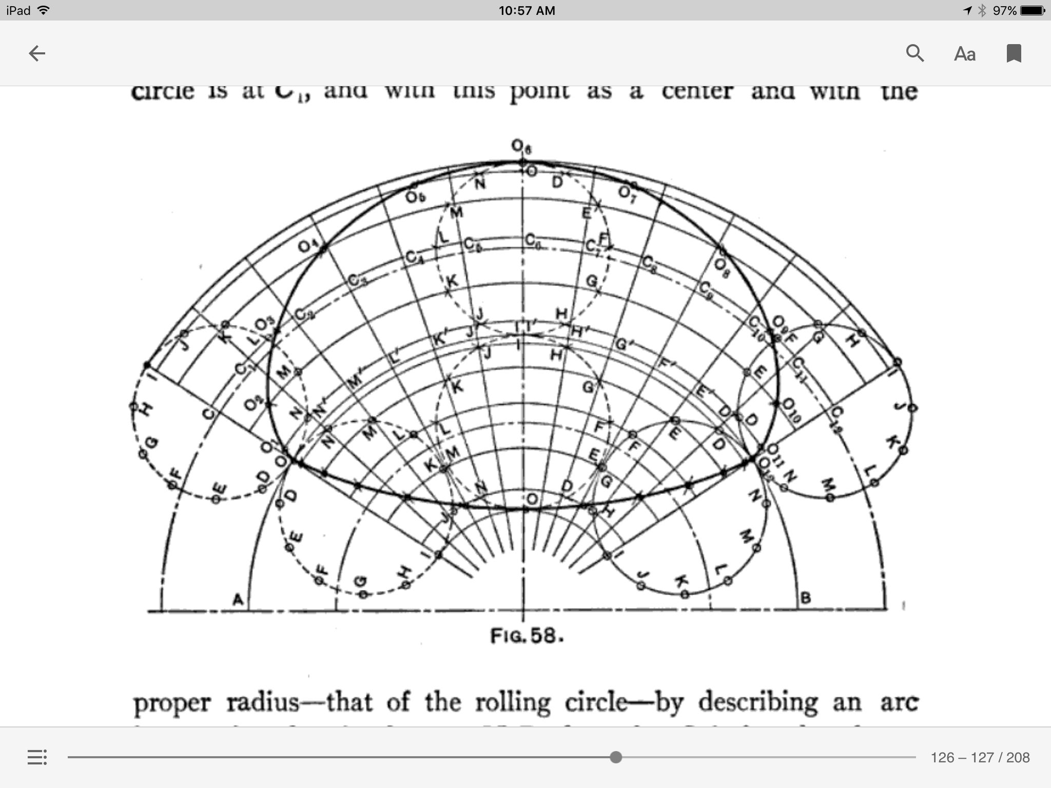 Construction Of The Epicycloid And Hypocycloid From