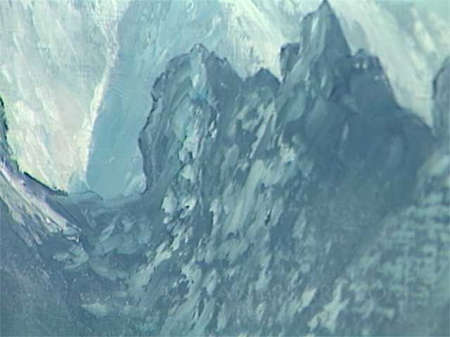 It is tough to create a great mountain scene with the wrong paint - Bill explains.