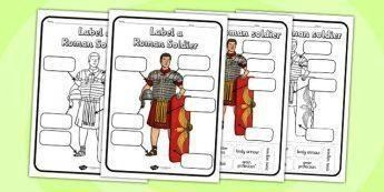 Resources  2014 Curriculum History New Curriculum  Page 7 Lab History Resources  2014 Curriculum History New Curriculum  Page 7 Label a Roman Soldier Worksheet  label a r...