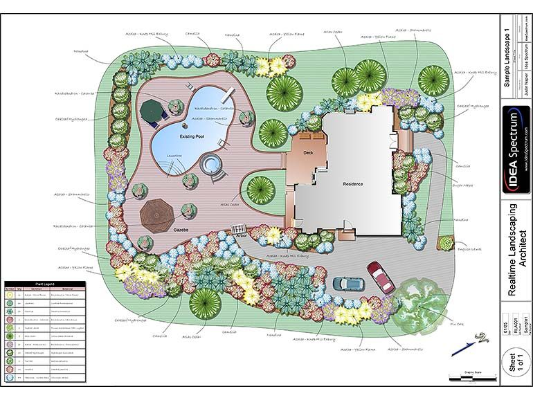 The Chic Backyard Landscape Design Plans Landscape Plans Landscape Design  Software Idea Spectrum Is One Of The Pictures That Are Related To The  Picture Bef