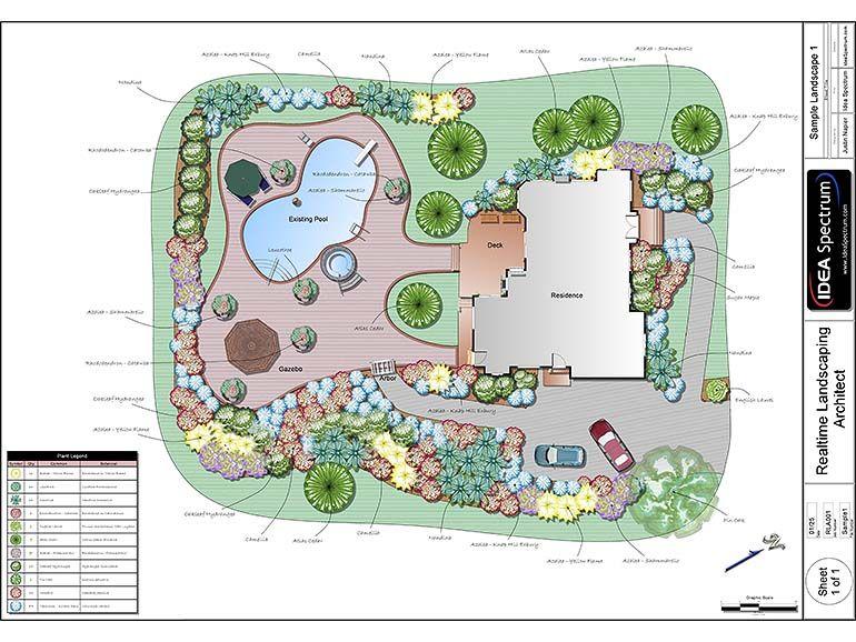 Landscape Design Software By Idea Spectrum Met Afbeeldingen
