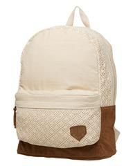 ROXY - GALLERY BACKPACK 21.6L - STONE on http://www.surfstitch.com