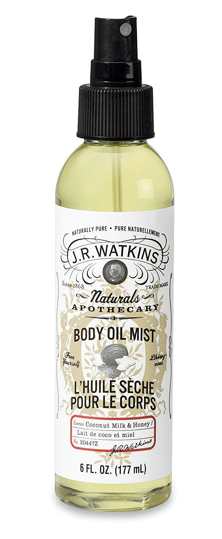 J R Watkins Natural Body Oil Mist Coconut Milk And Honey 6