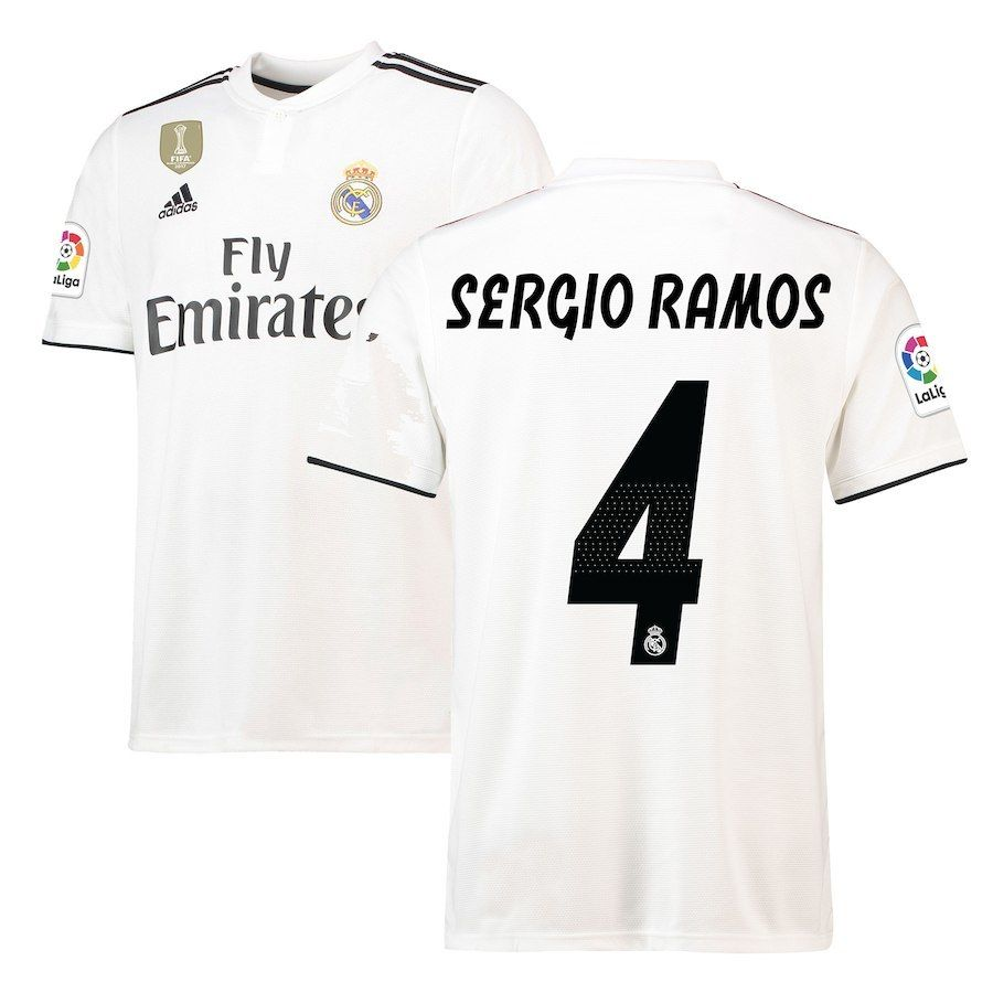 Fußball-Artikel Real Madrid FULL SPONSOR player issue sweater shirt Ronaldo Bale Modric Ramos