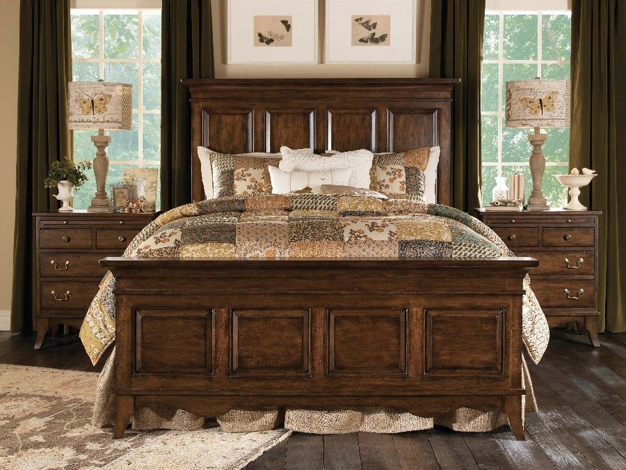 Homecoming Vintage Walnut King Panel Bed At North Carolina Furniture Best Buys Kincaid Furniture Furniture Master Bedroom Furniture