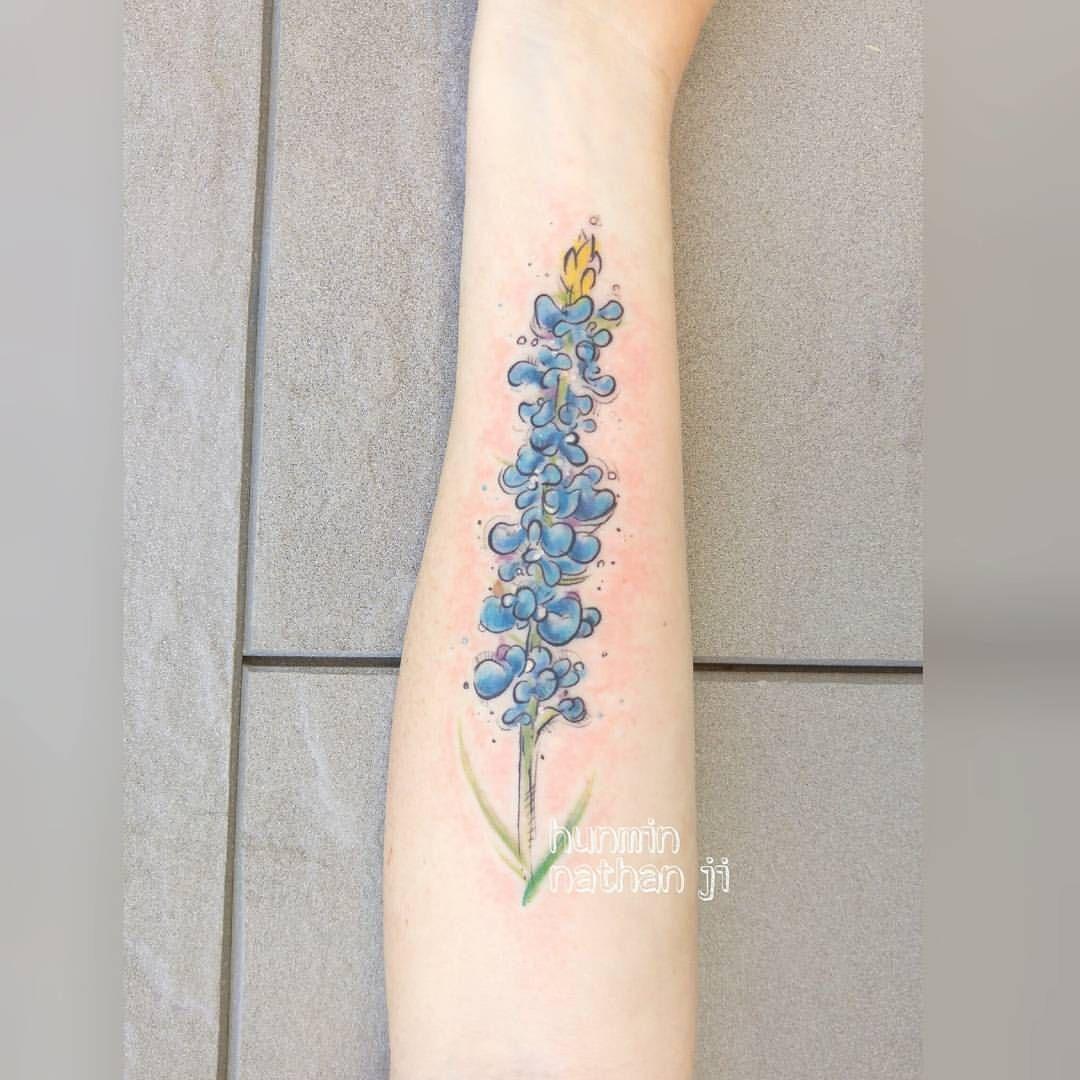 Bluebonnet Tattoo Bluebonnet Tattoo Forever Tattoo Bestie Tattoo