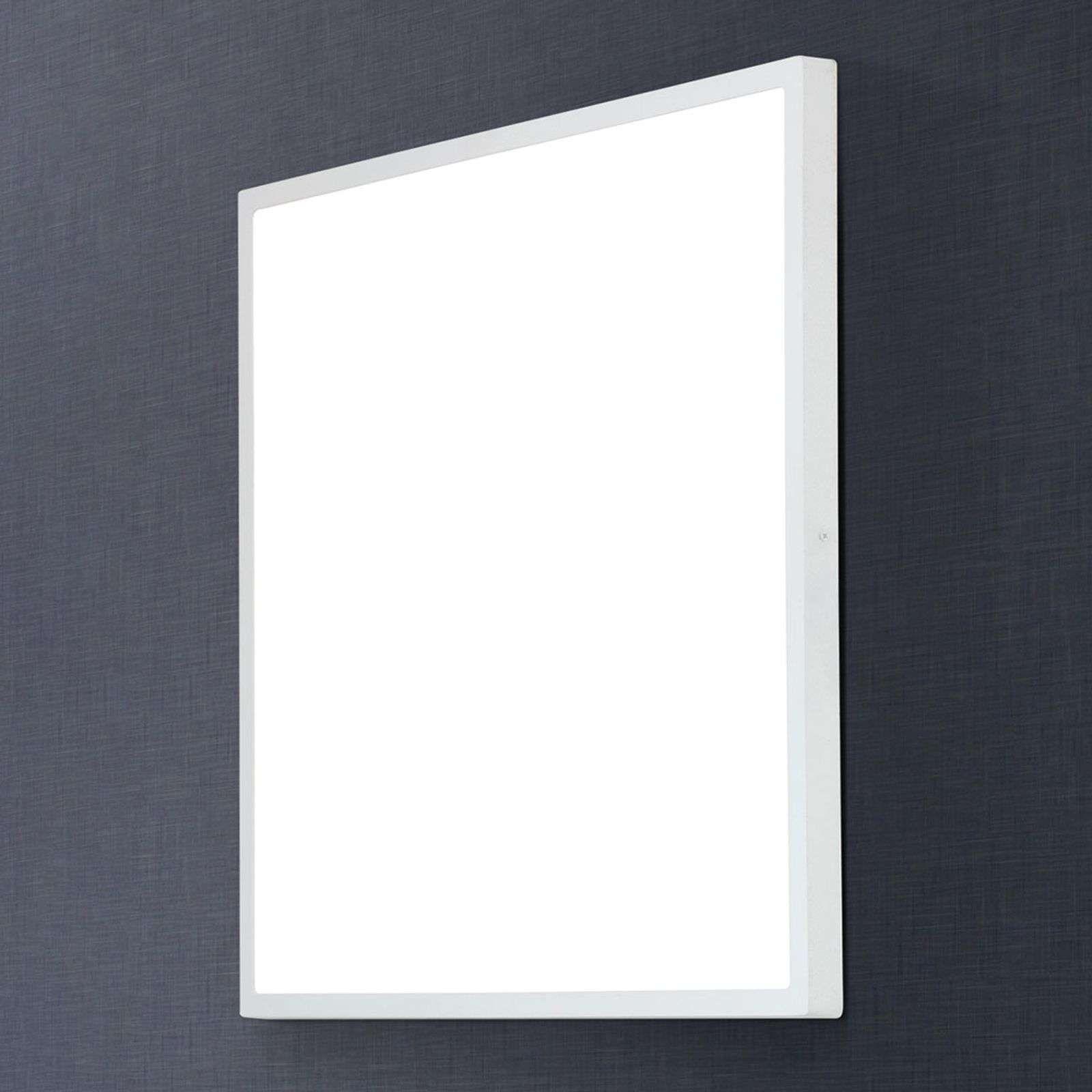 Hoekige Led Plafondlamp Lero 60 X 60 Cm Plafondlamp Plafondverlichting Binnenverlichting