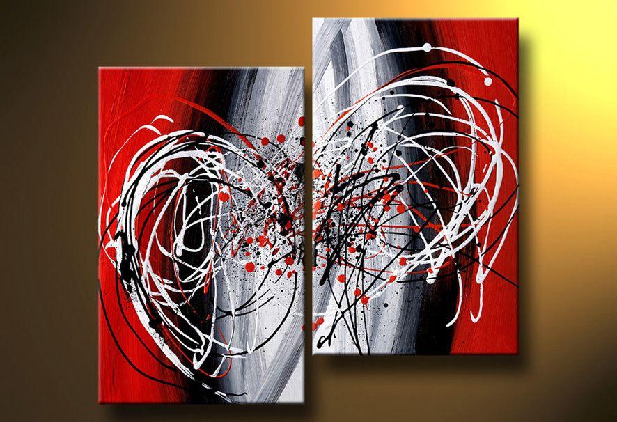 Cuadros abstractos modernos en acrilico texturados for Imagenes de cuadros abstractos con texturas