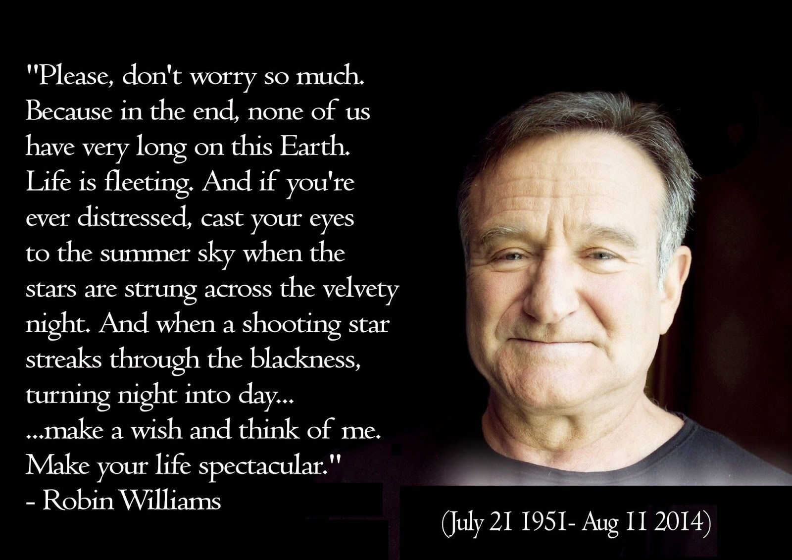 Pin By Suzanne On I Believe Robin Williams Quotes Life Quotes Great Quotes About Life