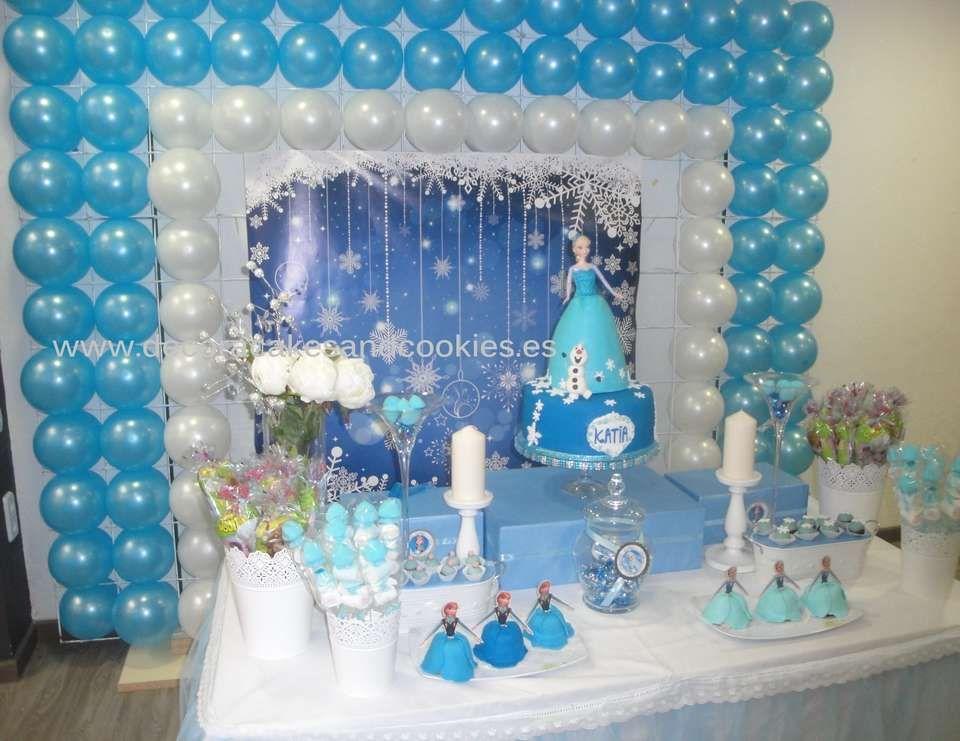 Frozen disney birthday cumplea os de katia disney for Decoracion de cumpleanos
