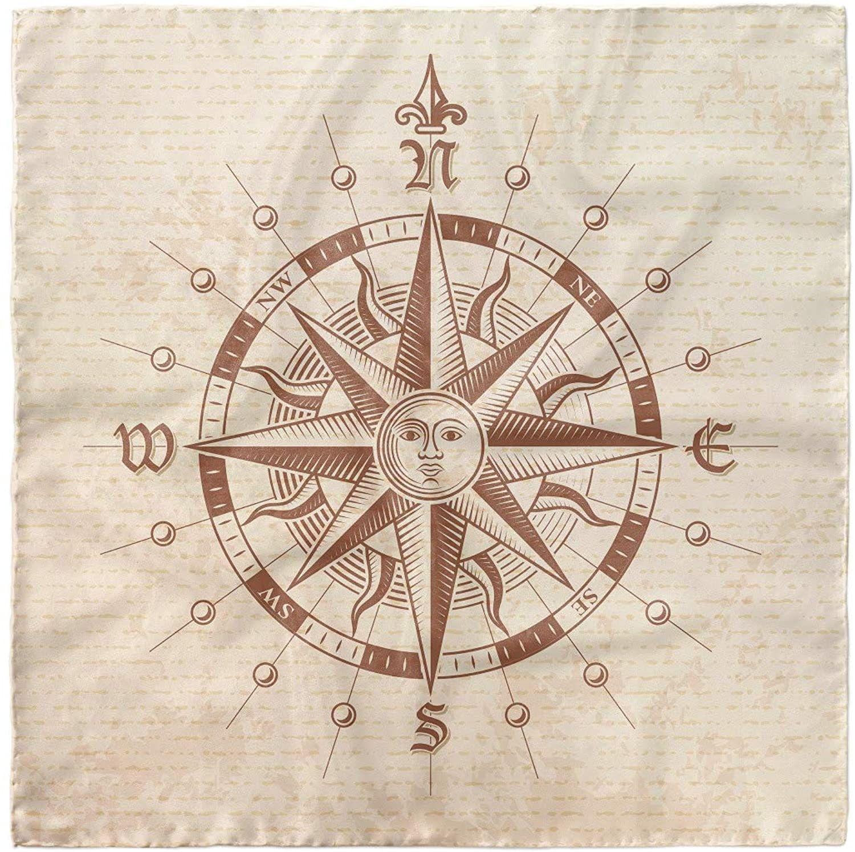 Compass Rose With Grunge Texture Compass Art Vintage Compass Compass Rose