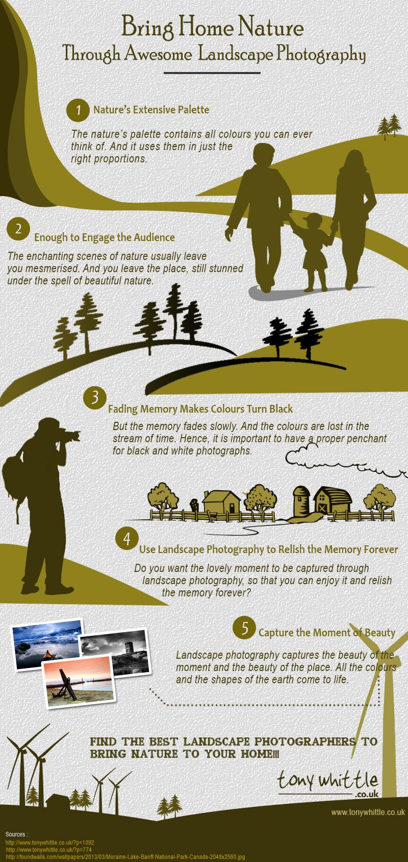 Landscape Photography and Nature (Infographic) image LANDSCAPE PHOTOGRAPHY AND NATURE