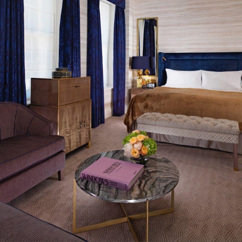 Bespoke Axminster Carpet By Cavalier Carpets At Flemings Hotel Mayfair