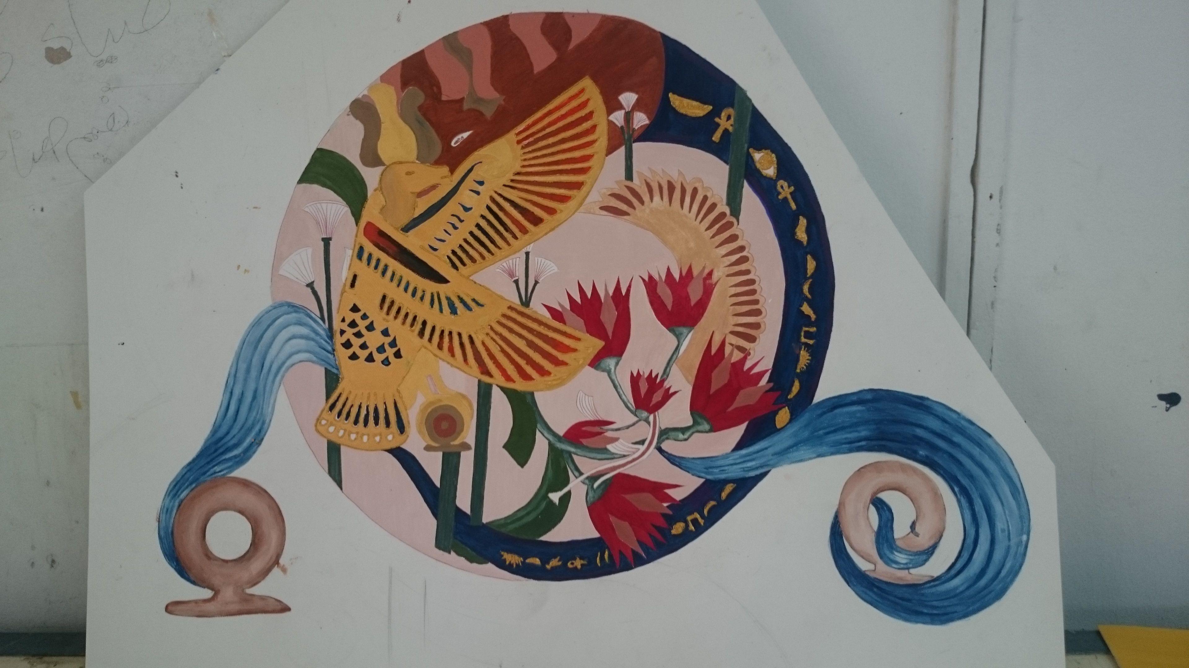 نتيجة بحث الصور عن الزخارف الفرعونية علي المنسوجات Line Art Drawings Art Drawings Art